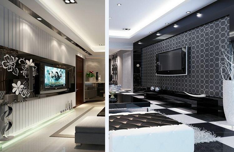 家装cad图库电视背景墙影视墙现代欧式客厅电视墙全套