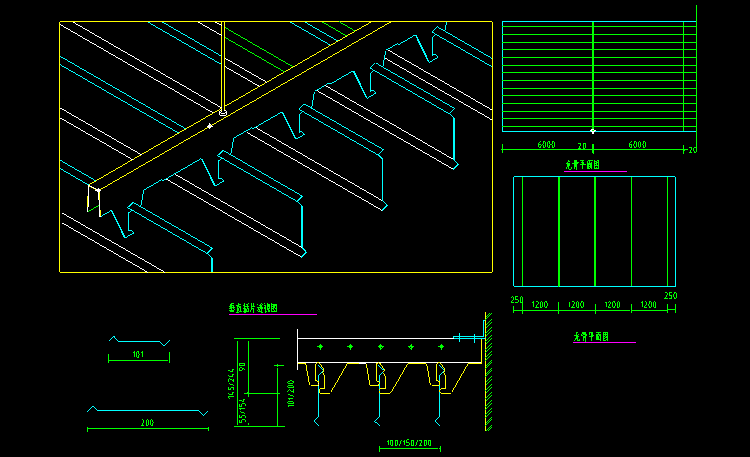 cad室内吊顶平面设计详细施工图