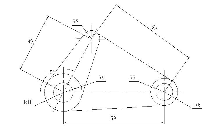 cad机械制图基础_100个CAD机械零件平面练习图纸 - 迅捷CAD编辑器