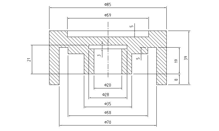 零件平面图