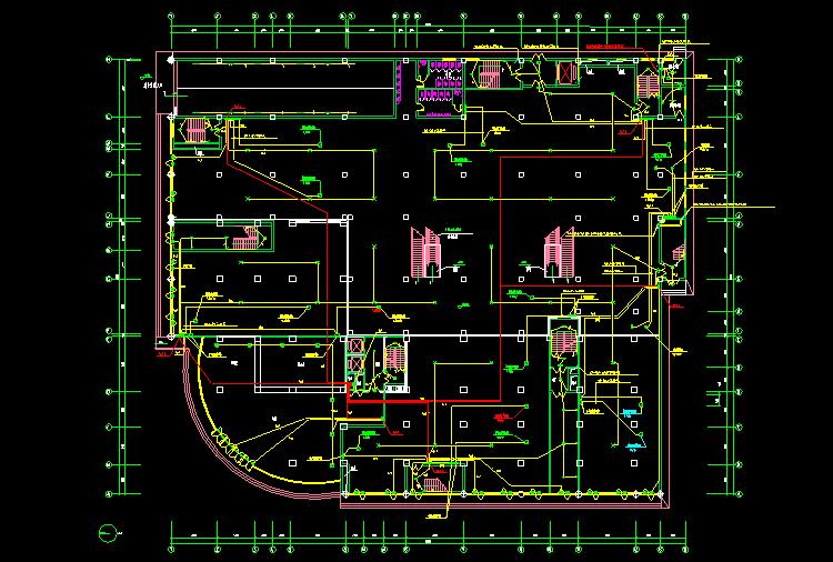 电力平面图