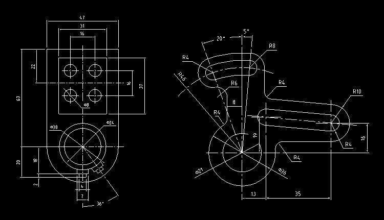 机械零件图6