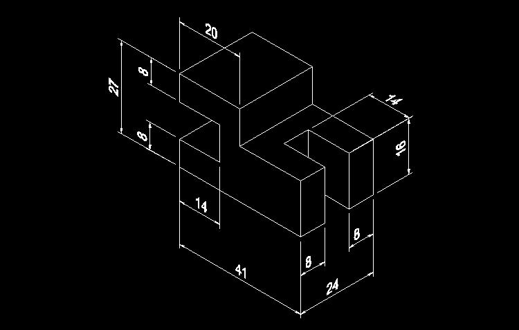 CAD练习图9