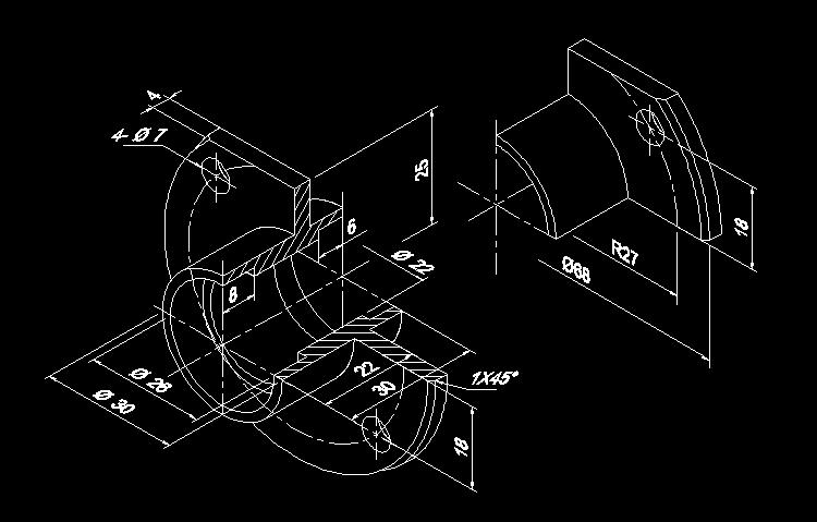 CAD练习图10