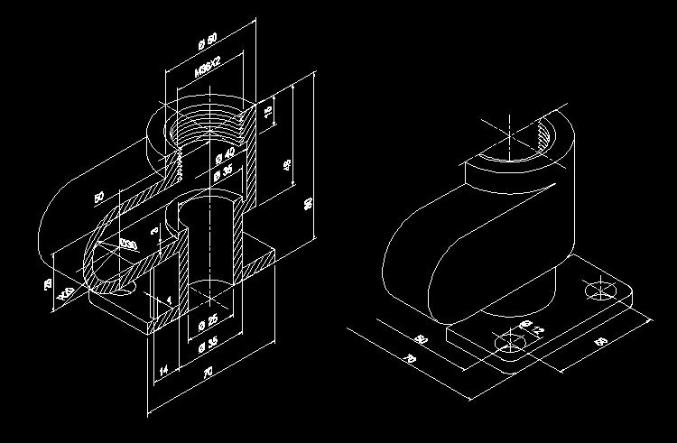 CAD练习图11