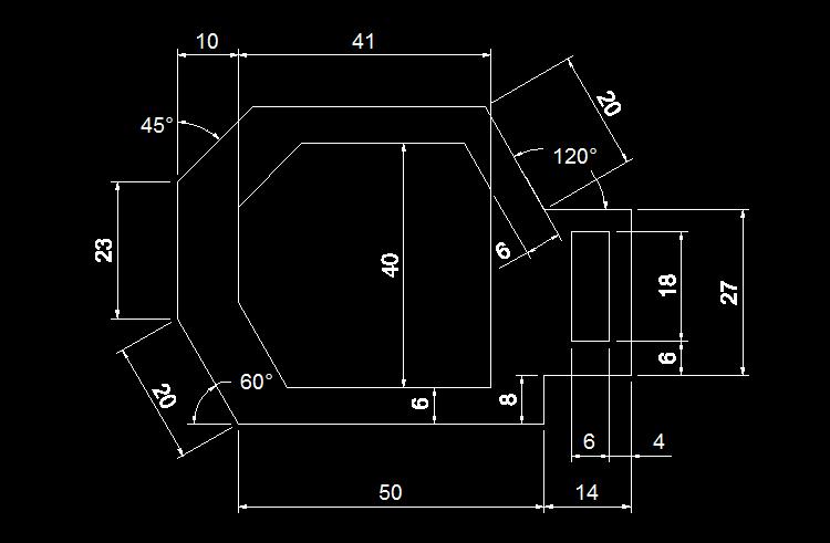 300多张CAD基础练习图纸图片