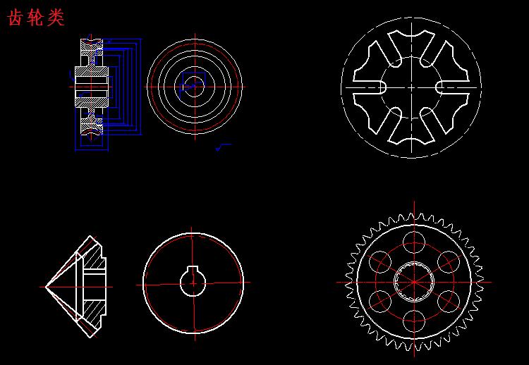 CAD模型设计常用二维三维图块机械周浦cad培训钱多少图片