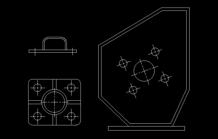 CAD练习图3