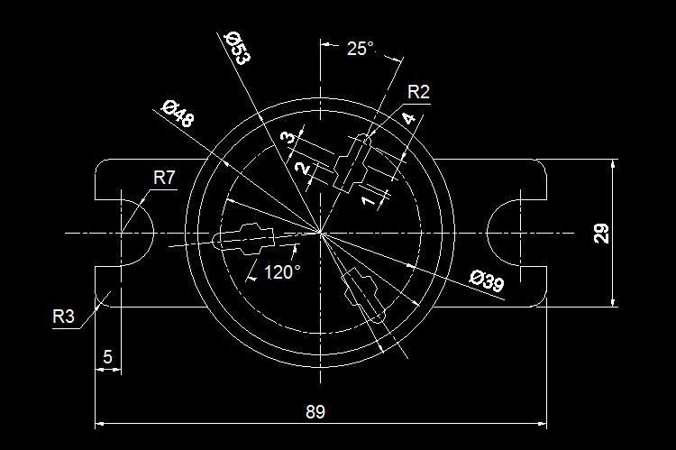 CAD练习图4