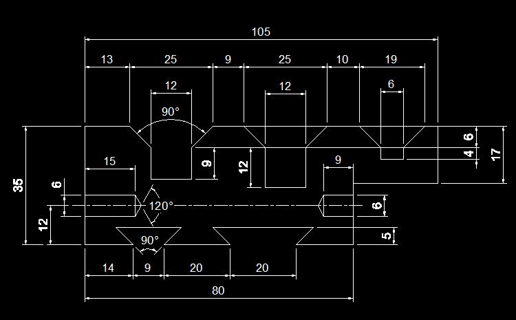 CAD练习图5