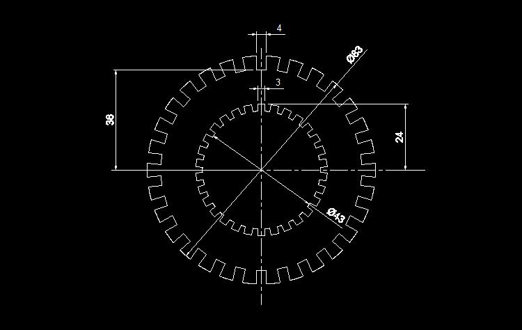 CAD练习图7