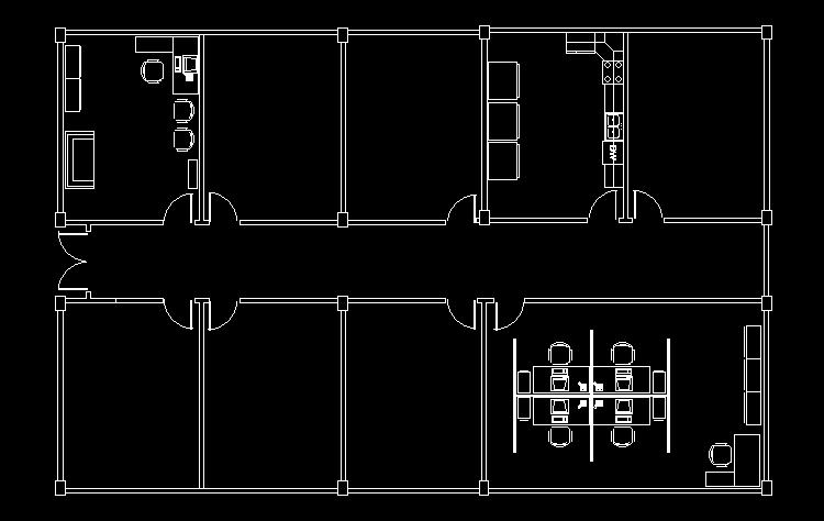 CAD练习图8
