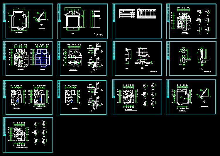 某别墅建筑施工图