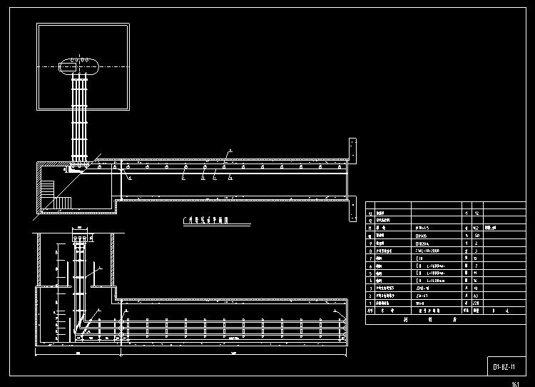 厂外母线道平面图