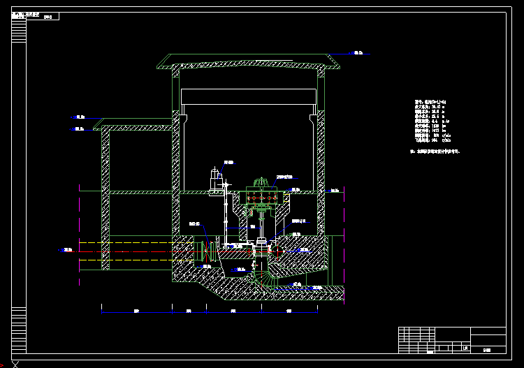 电站发电机械图纸1