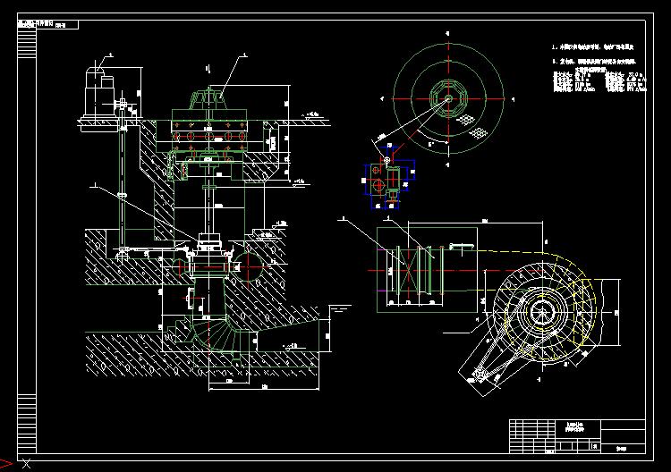 电站发电机械图纸2