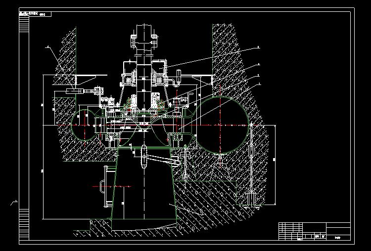 电站发电机械图纸3