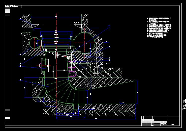 电站发电机械图纸4