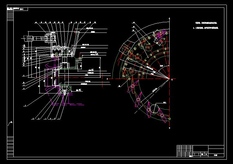 电站发电机械图纸5