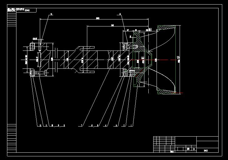 电站发电机械图纸6
